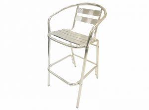 Aluminium Bar Stool - Pub, Cafe's, Event Venues - BE Furniture Sale