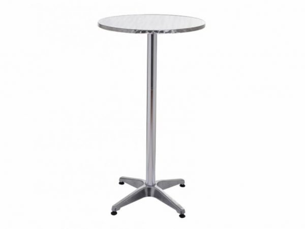 Aluminium High Bar Table - Bars, Bistro, Home - BE Furniture Sales