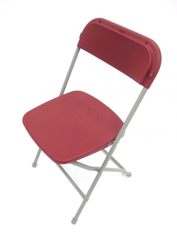 Red Folding Chair - Event & Exhibition Venues - BE Furniture Sales