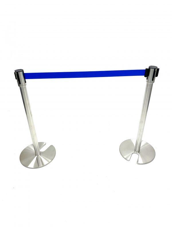 Blue Tensa Barriers