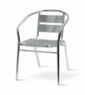 Standard Aluminium Chairs - Cafe's, Bistros or Home - BE Furniture Sales