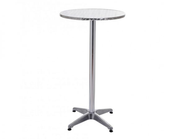 Aluminium High Table - Bar Table - BE Furniture Sales