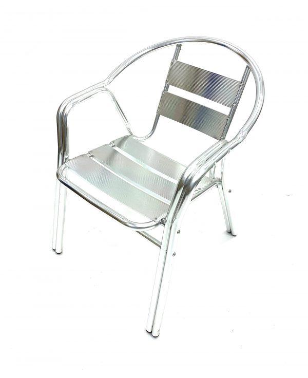 Double Tube Aluminium Chair