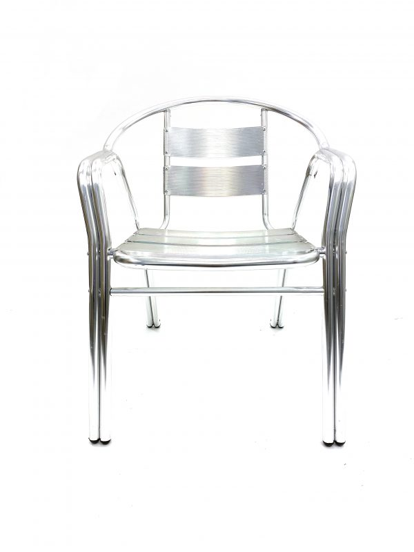 Double Tube Aluminium Chair
