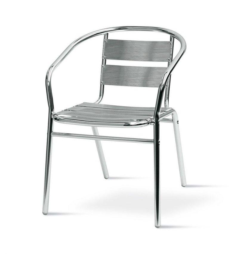 Standard Aluminium chair - BE Furniture Sales