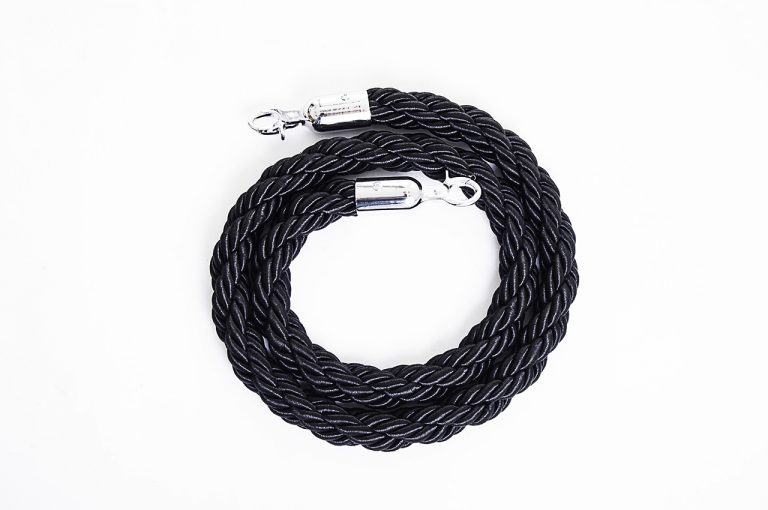 Black Braided Ropes - BE Furniture Sales