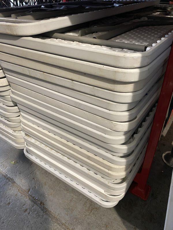 Ex Hire Plastic Tables