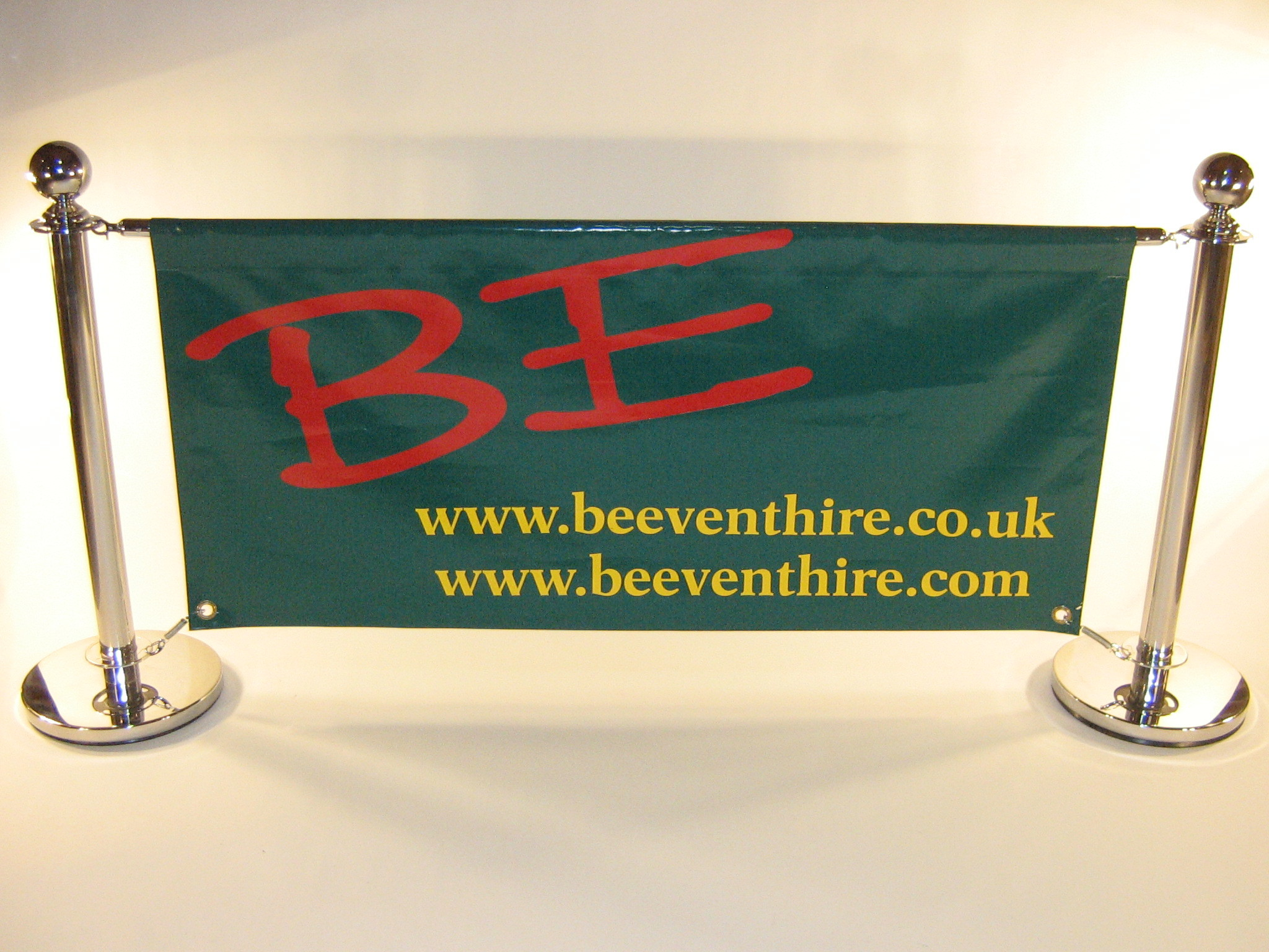 High quality stainless steel cafe barrier sets - BE Event Hire