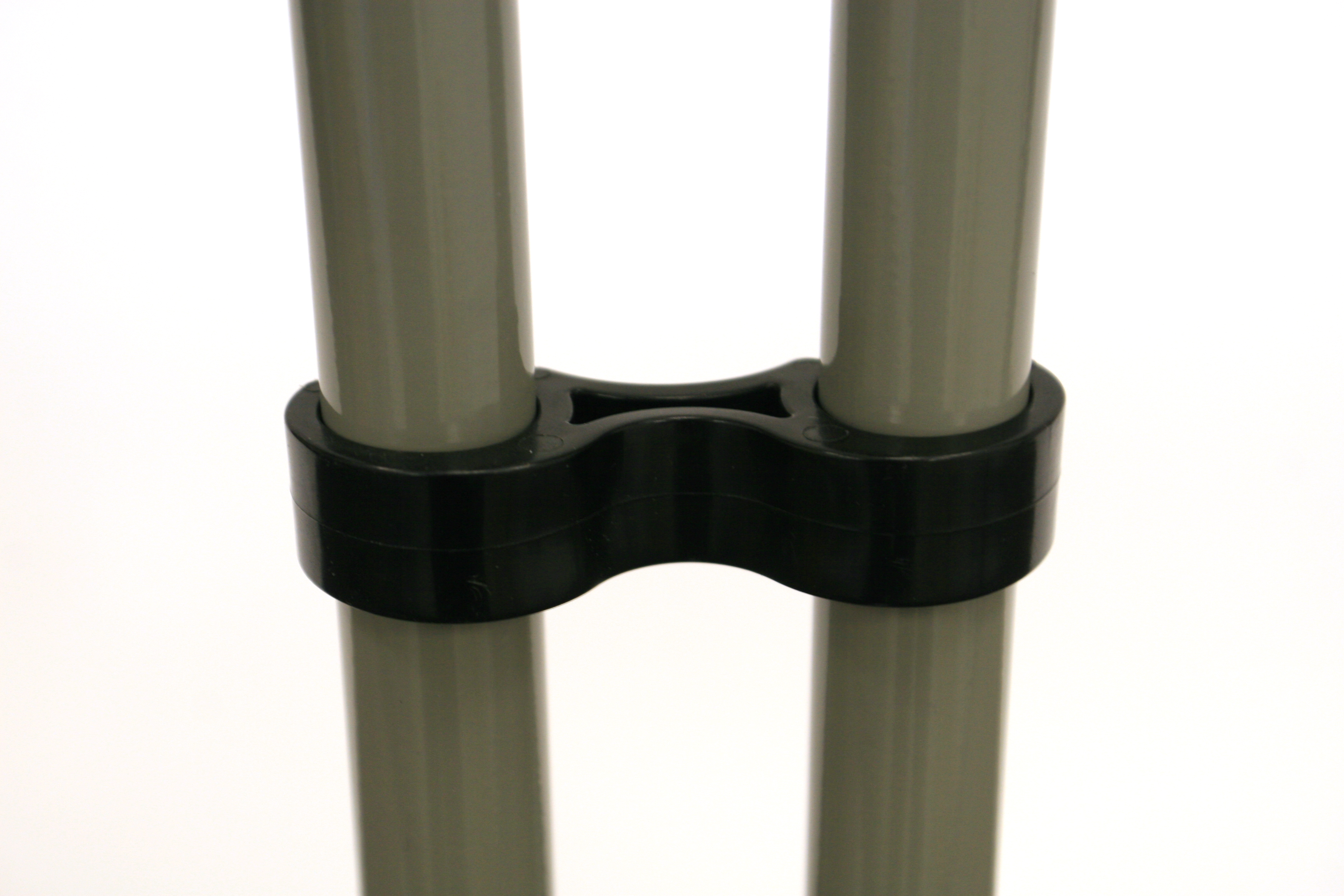 Black plastic linking clip for linking Folding chairs. - BE Event Hire