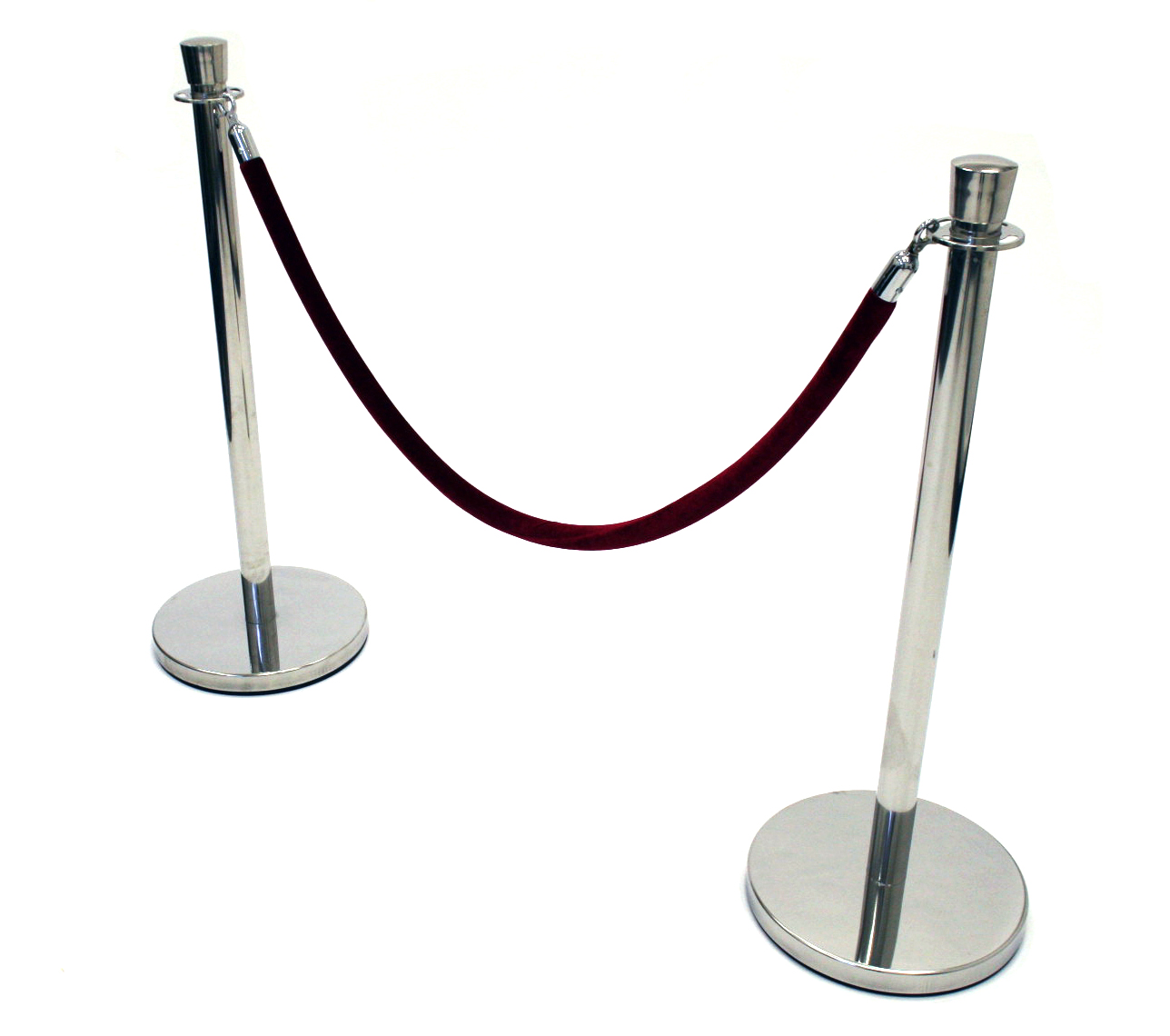 Barrier Posts - Crown top- BE Event Hire