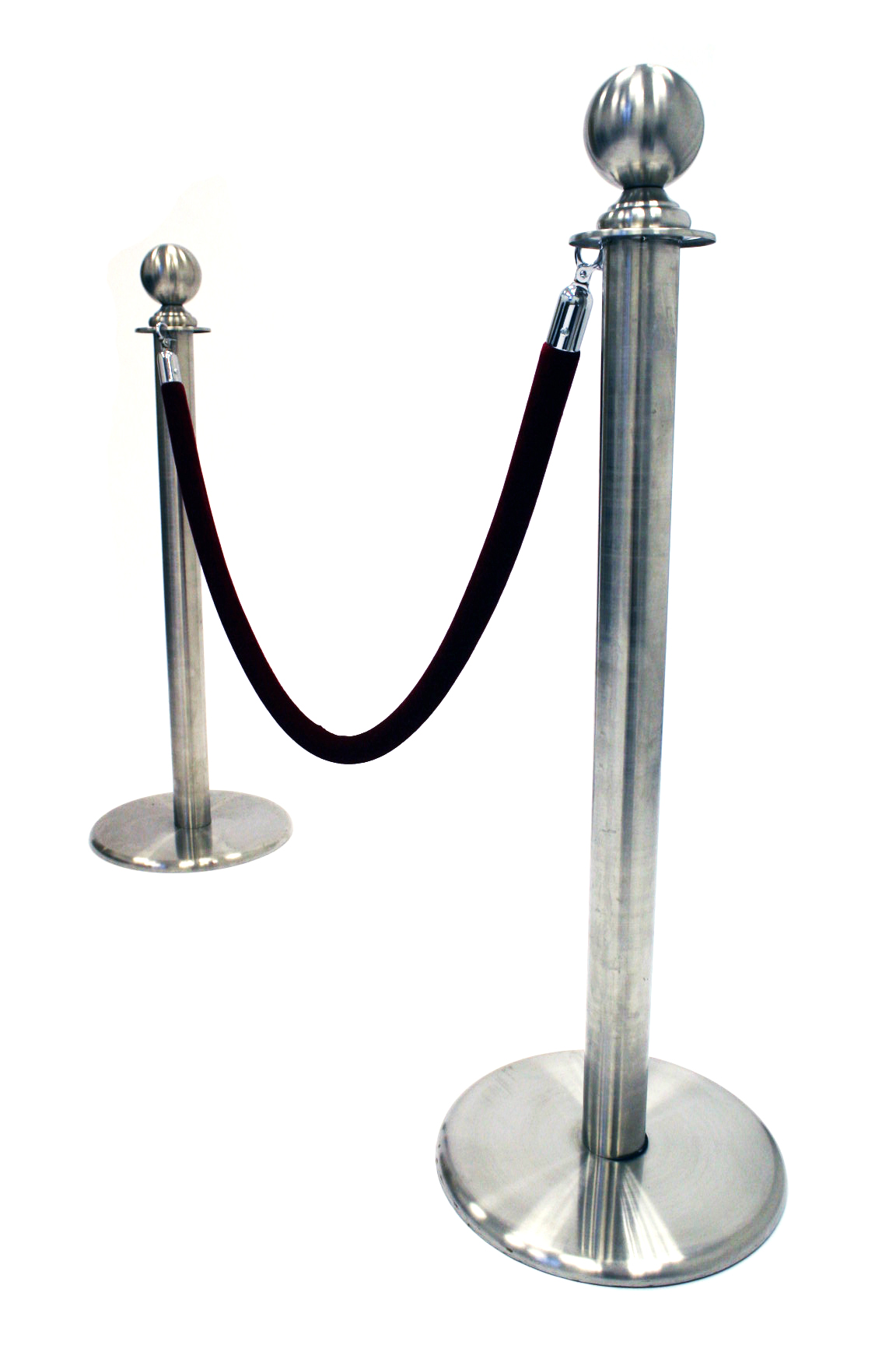 Stainless Steel Barrier Posts - Ball Top Barrier Posts - BE Furniture Sales