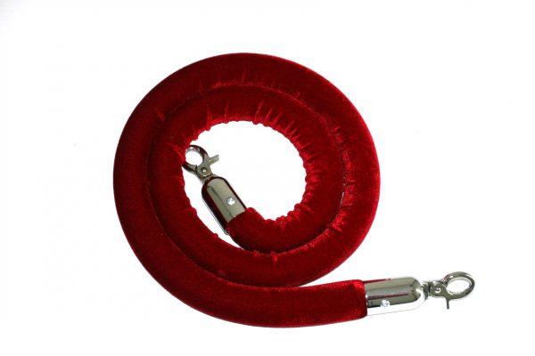 Velvet Barrier Rope - Various Colours - BE Furniture Sales