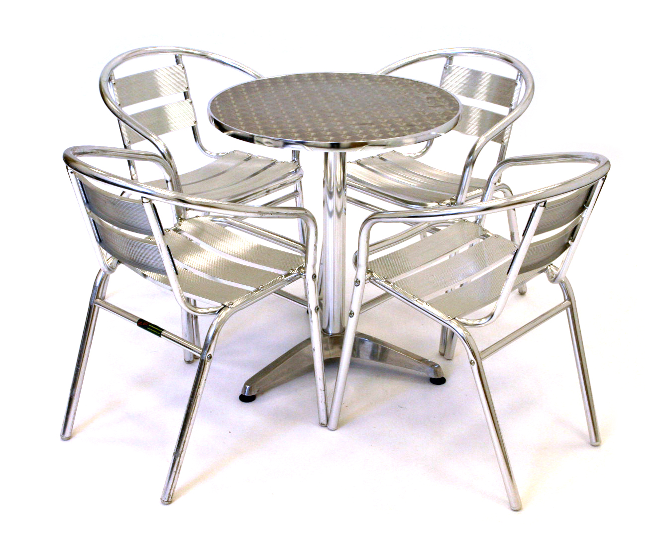 Aluminium Cafe Set - Cafe's, Bistro & Home Garden - BE Furniture Sales