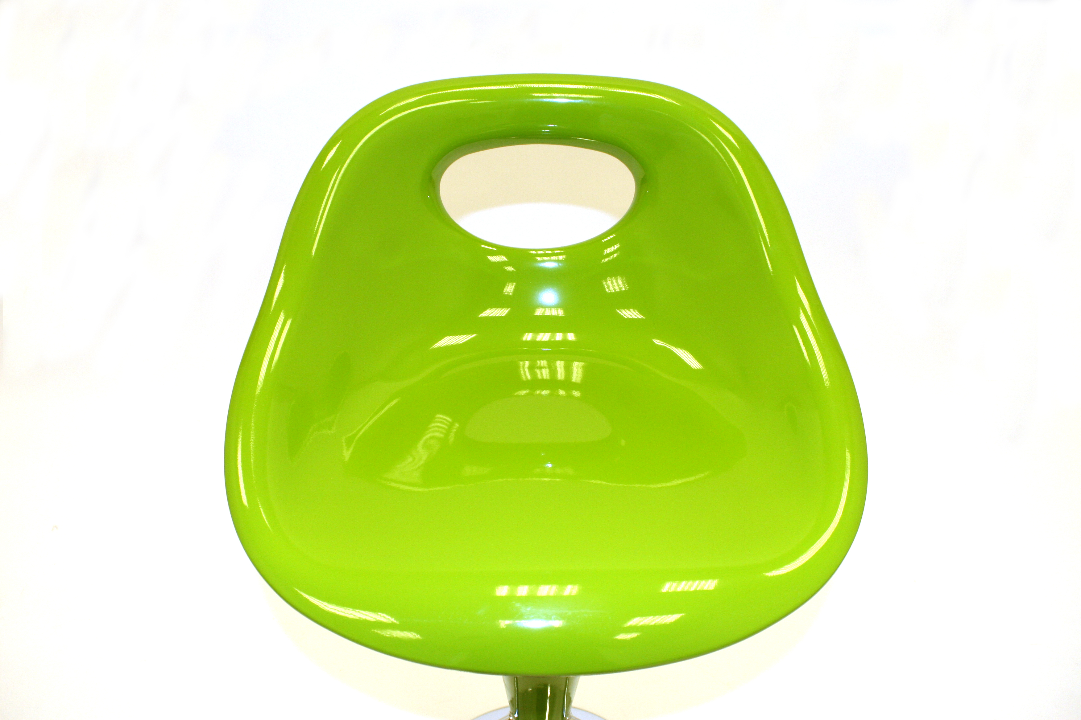 Green Plastic Bar Stools