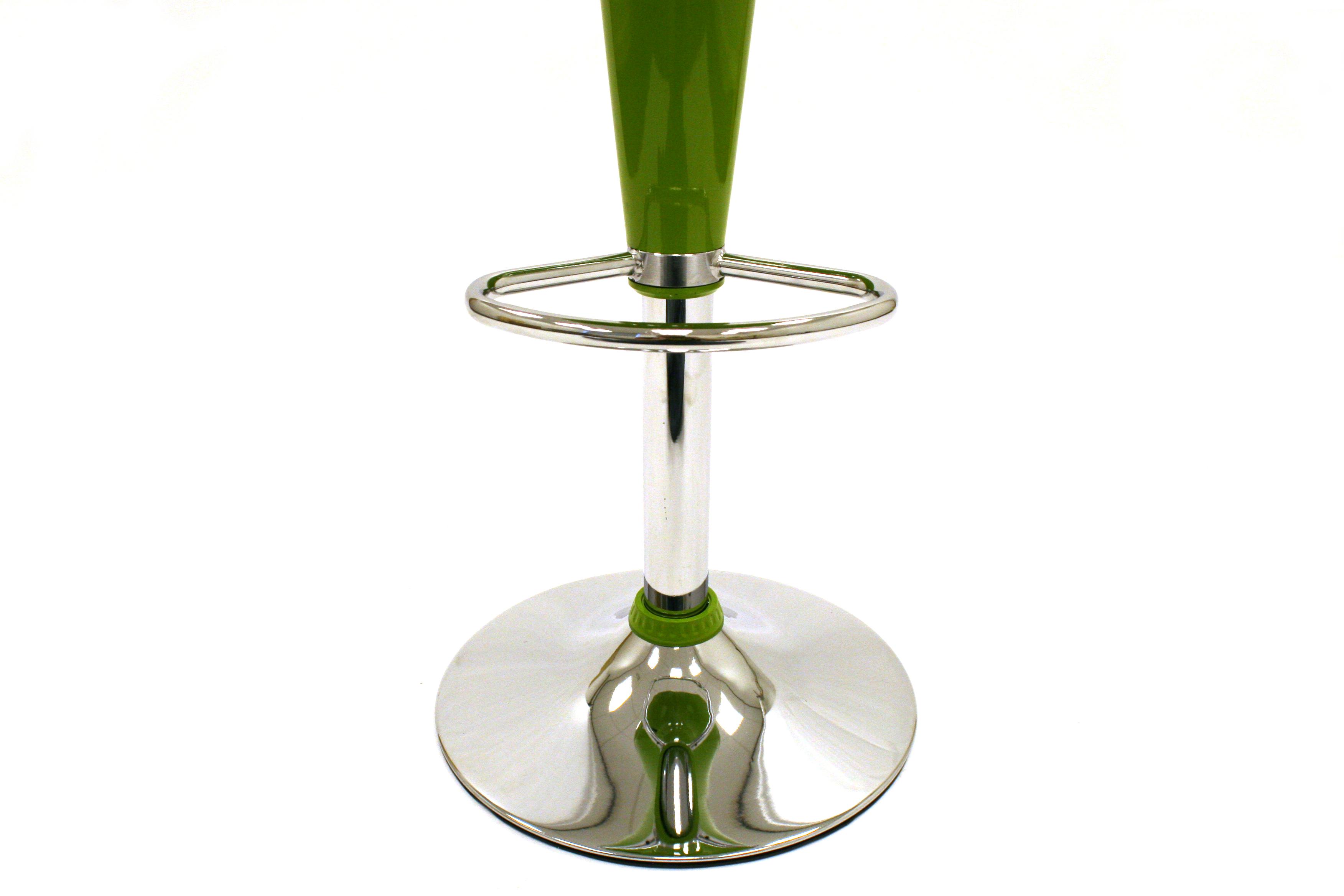 Green Plastic Bar Stools