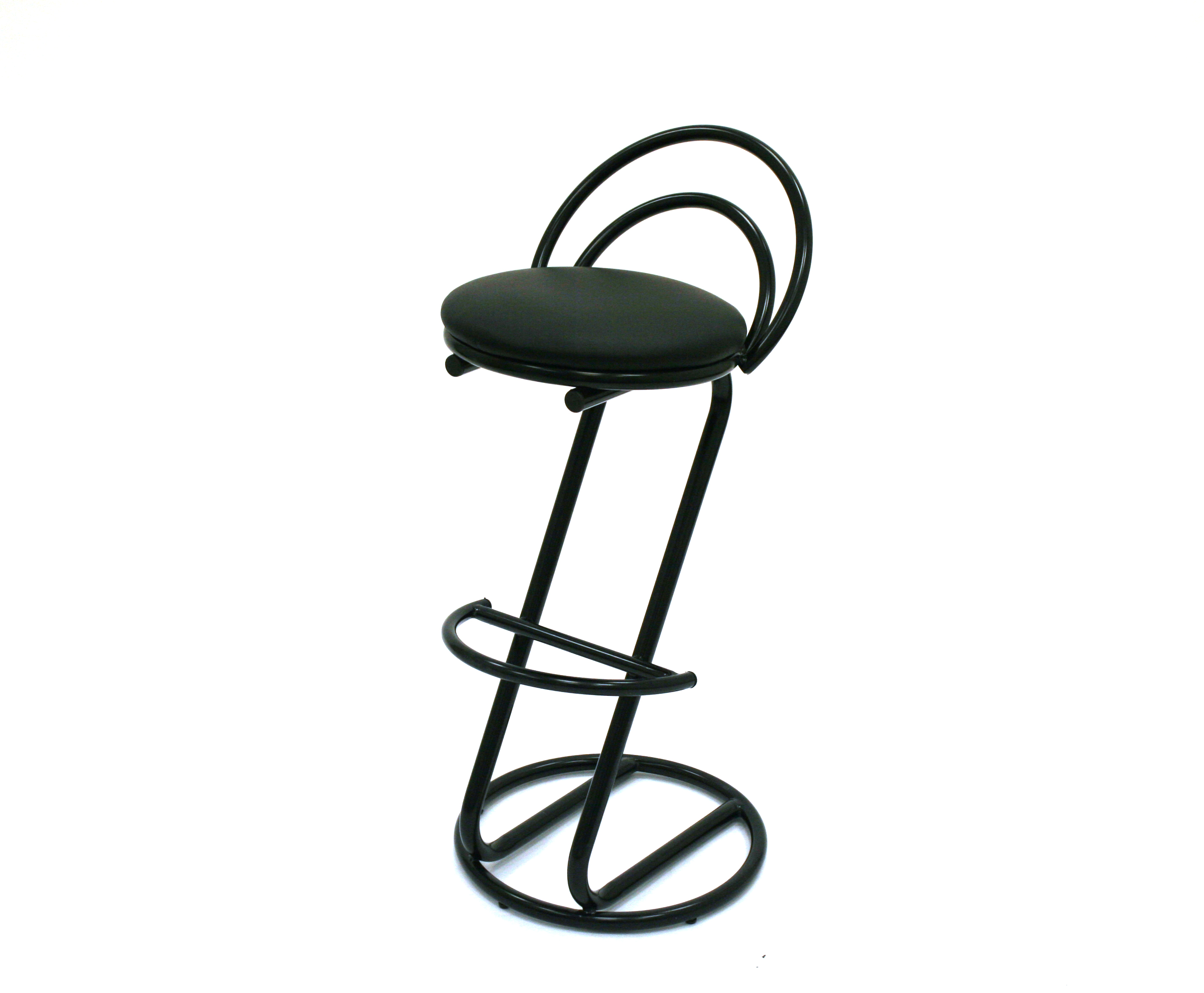 Black Cobra Bar Stools - Cafes, Bistro, Trade Stands - BE Furniture Sales