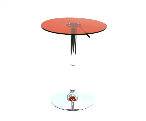 Red Acrylic Bistro Table - Cafes, Bistros & Home - BE Furniture Sales