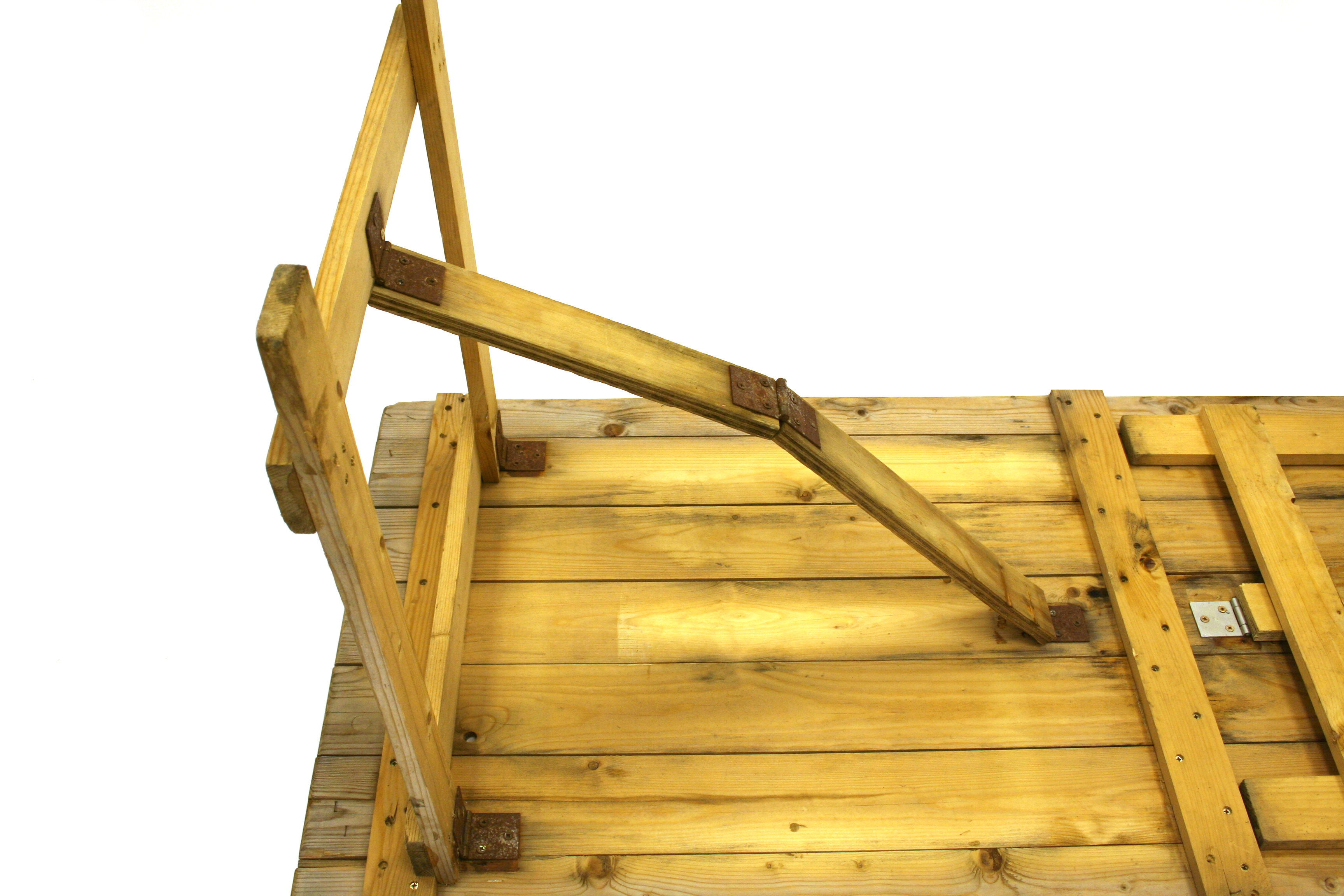 Ex Hire 6'x 2'6'' Wooden Trestle Table - BE Event Hire