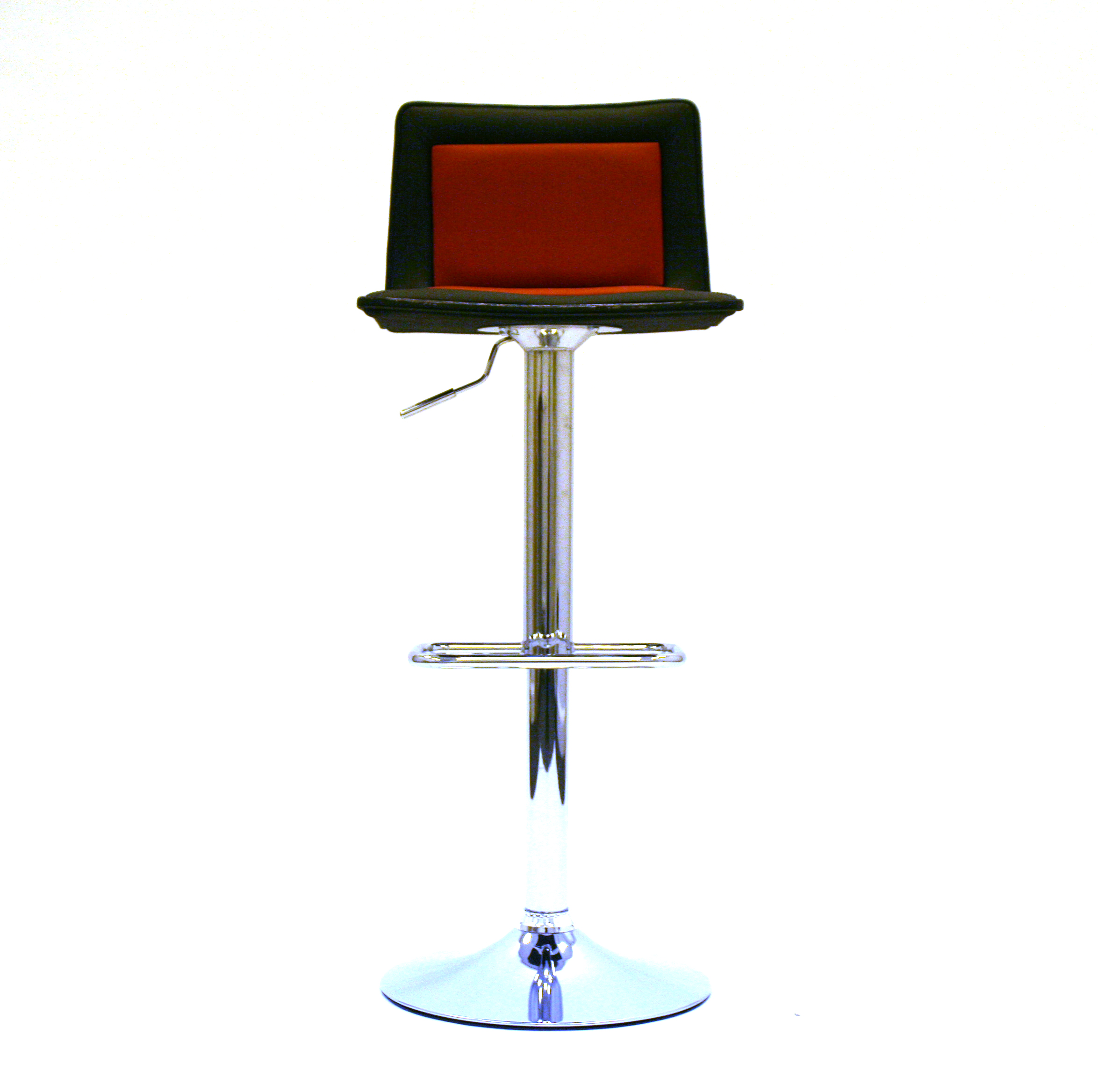 Black red leather bar stools be event