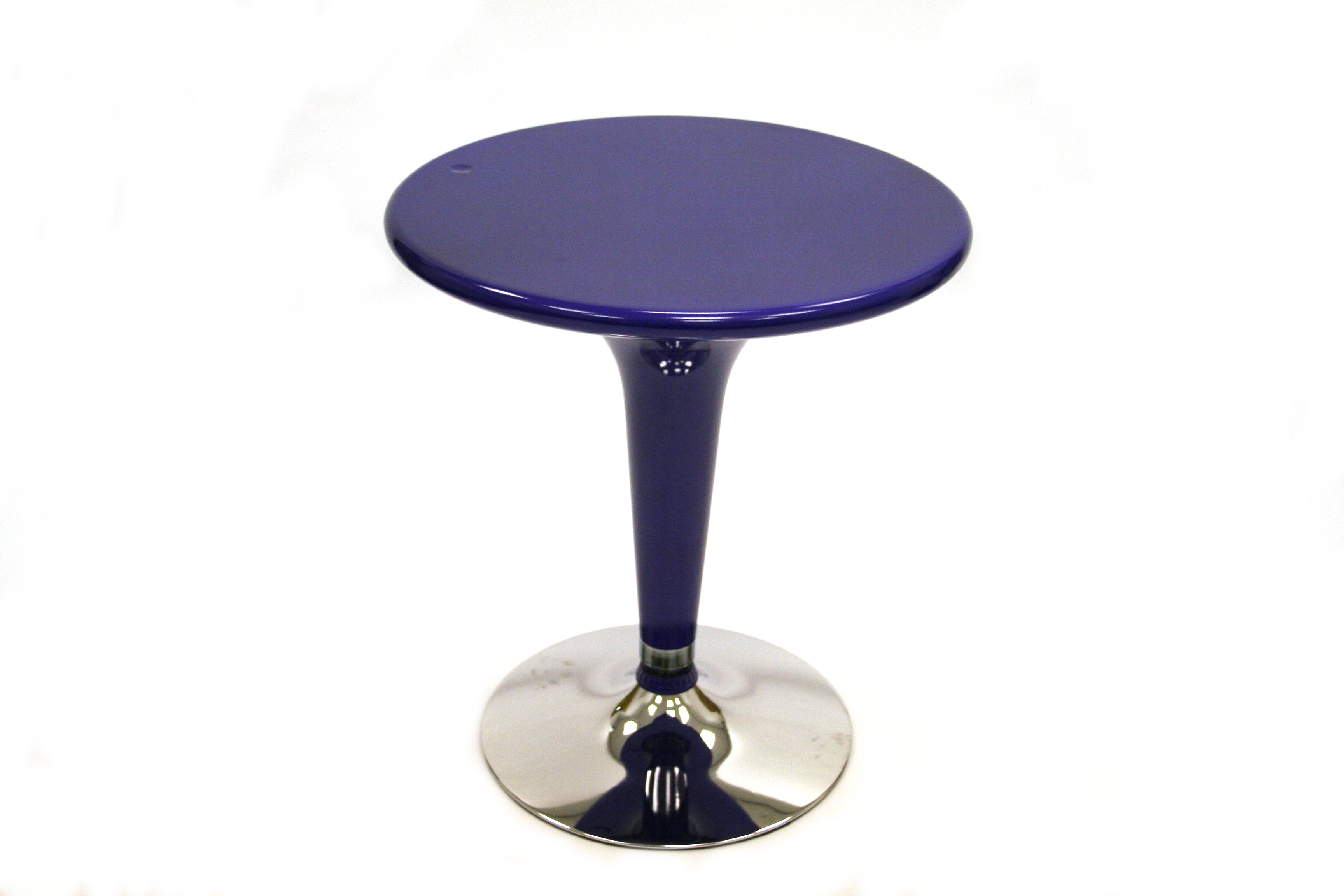 Purple Bar Table 60cm Dia Bistro Cafe Table Be
