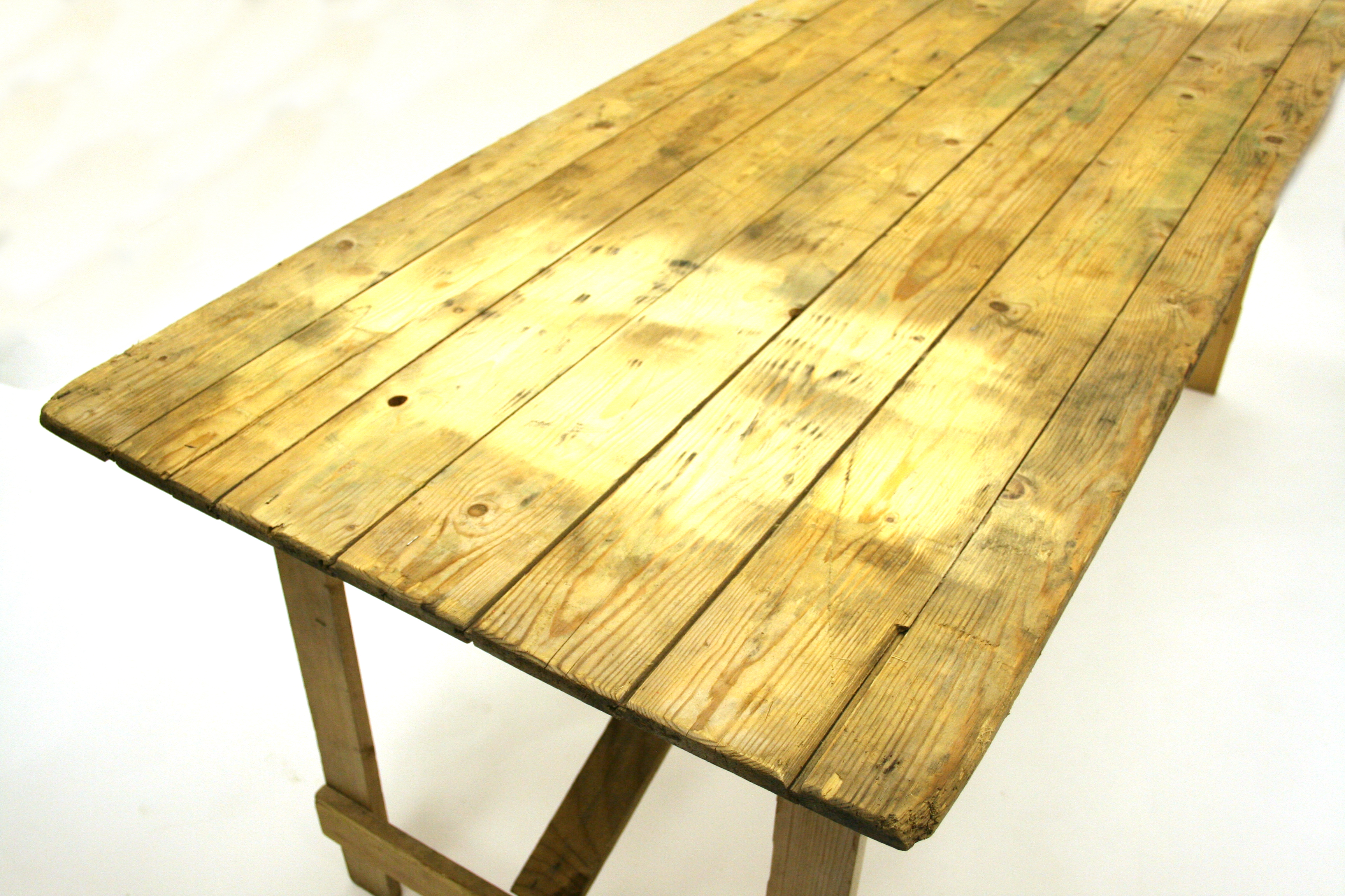 Ex Hire 6'x 2' 6'' Trestle Table - BE Event Hire