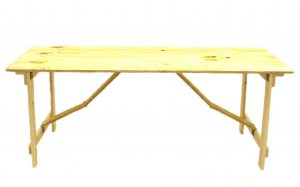 Ply 6 x 2 Wooden Table