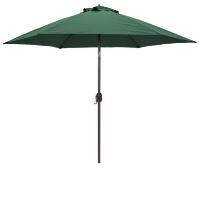 Green Patio Umbrella - 260 cm Diameter - BE Furniture Sales
