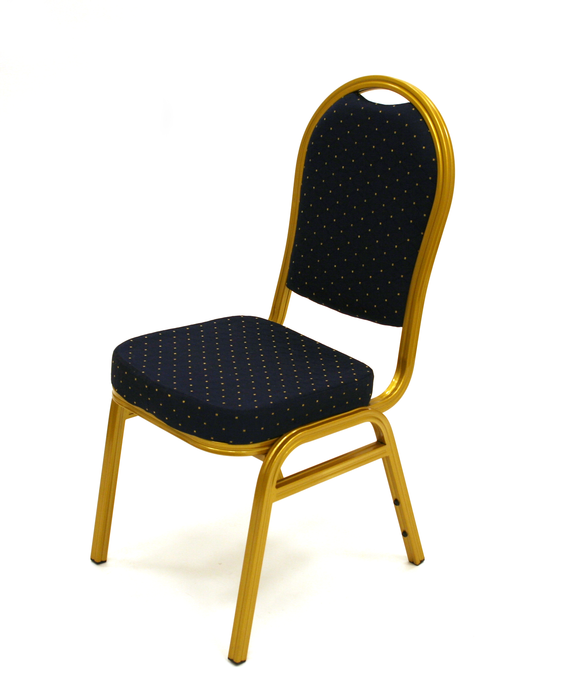 Blue Amp Gold Aluminium Banqueting Chair Be Furniture Sales