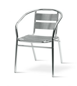 Aluminium chair - BE Event Hire