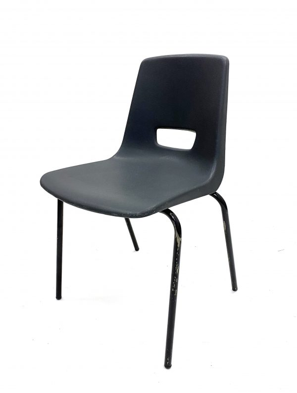 Ex Hire Grey Stacking Chairs