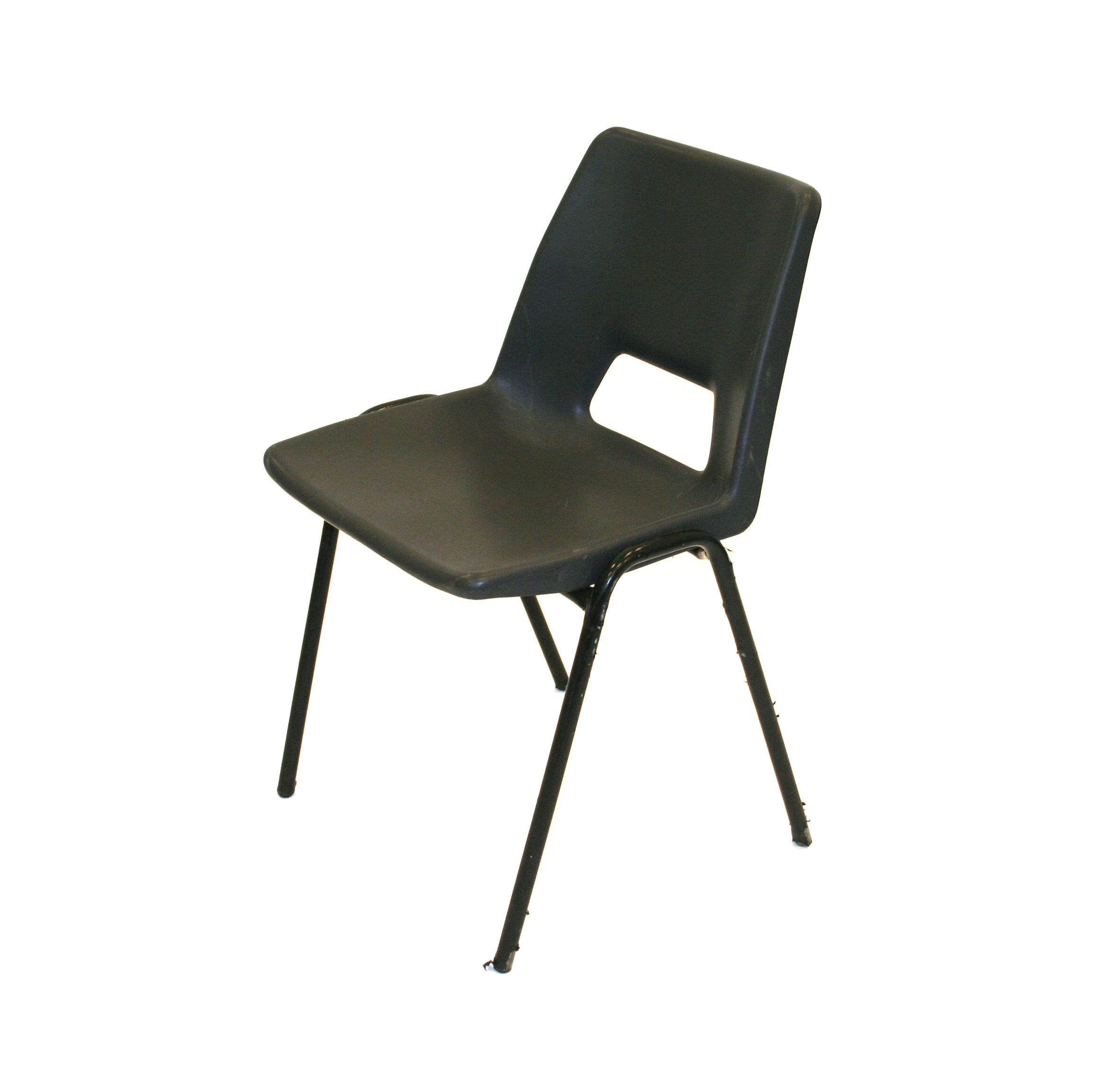Ex Hire Stacking Plastic Chair - BE Event Hire