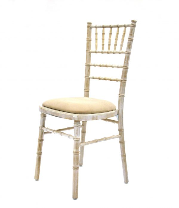 Limewash Chiavari Chairs - Weddings, Events - BE Furniture Sales