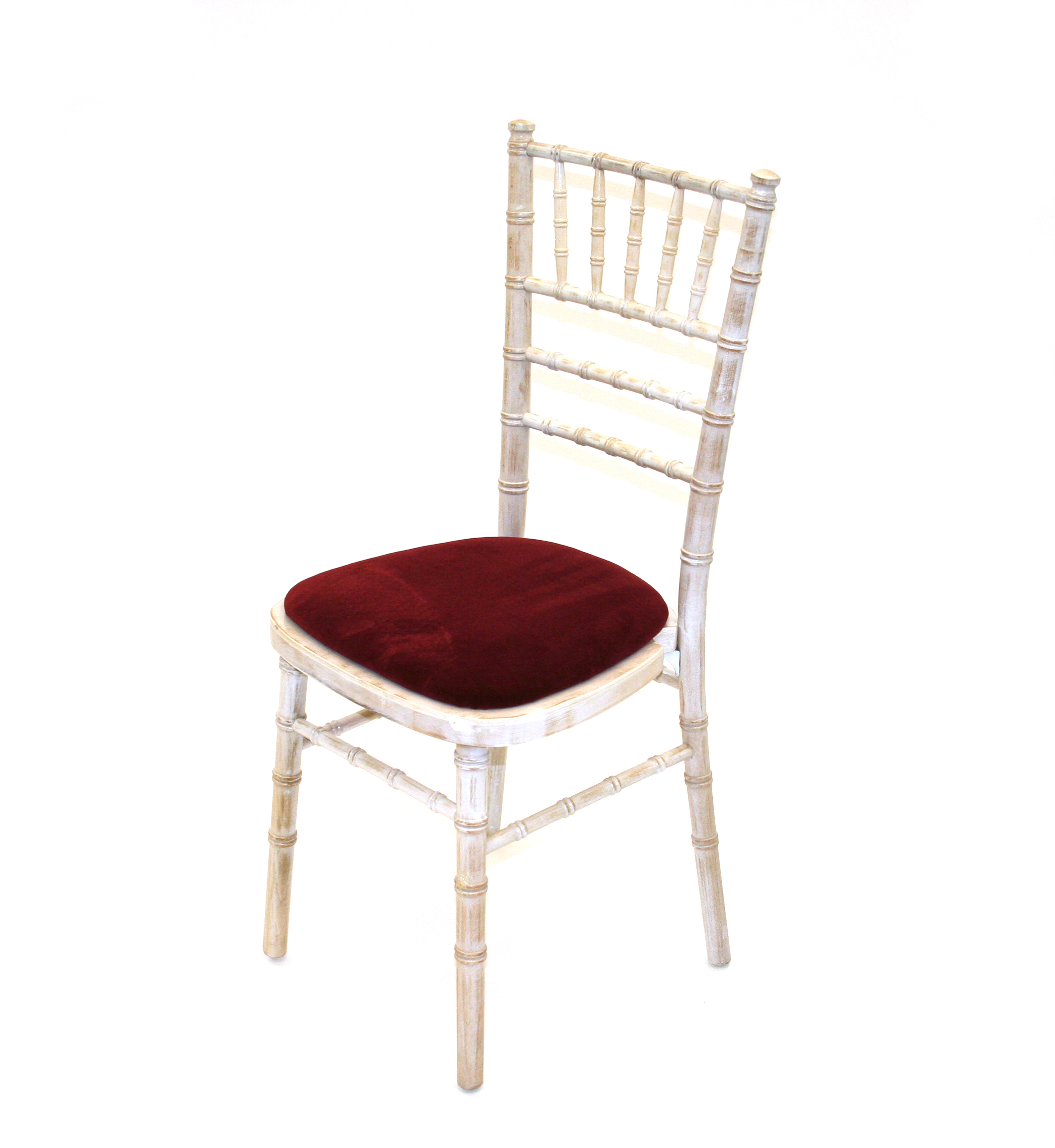 Limewash Chiavari Wedding Party Chairs - BE Event Hire
