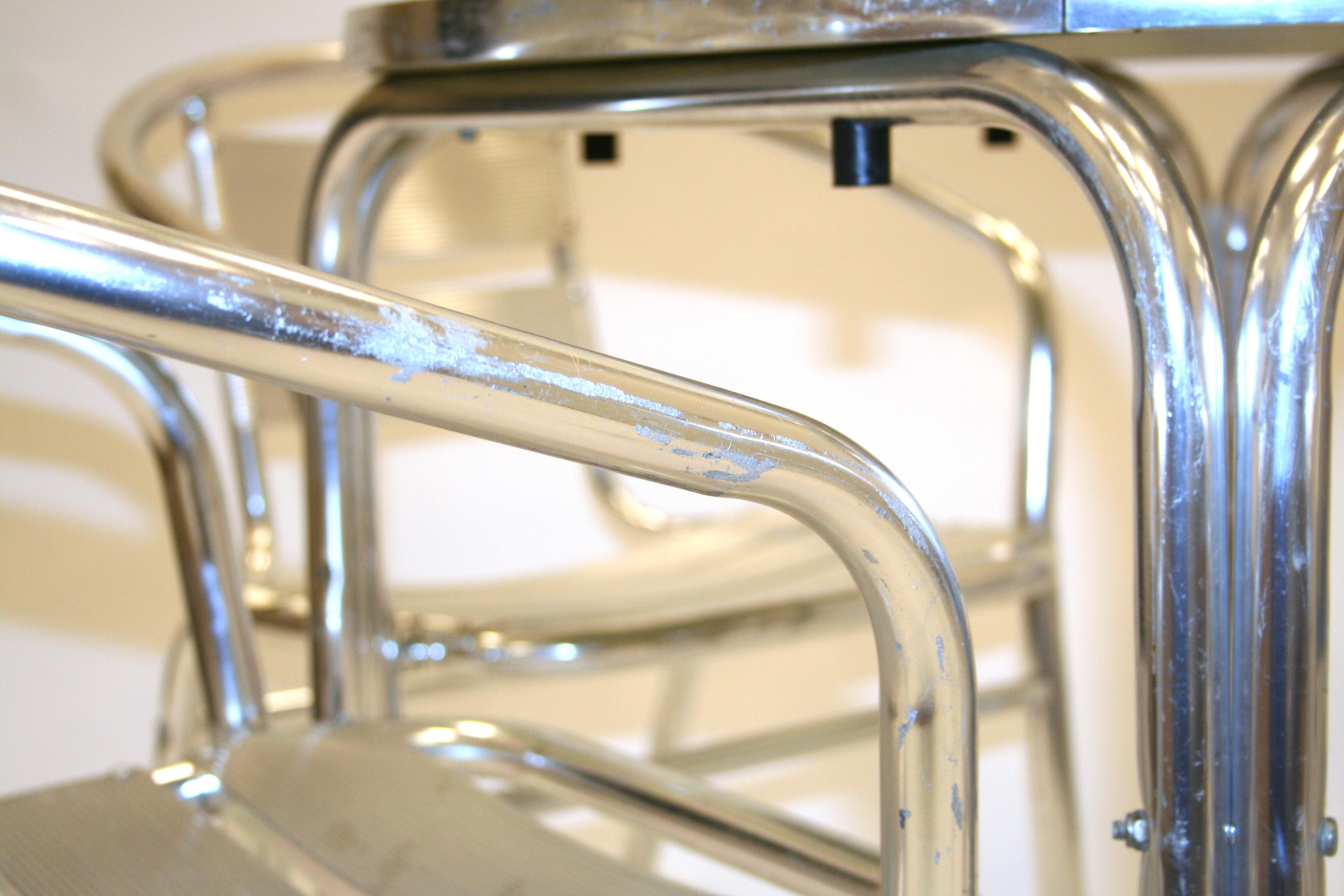 Ex Hire Aluminium Cafe Bistro Patio Set _ BE Event Hire