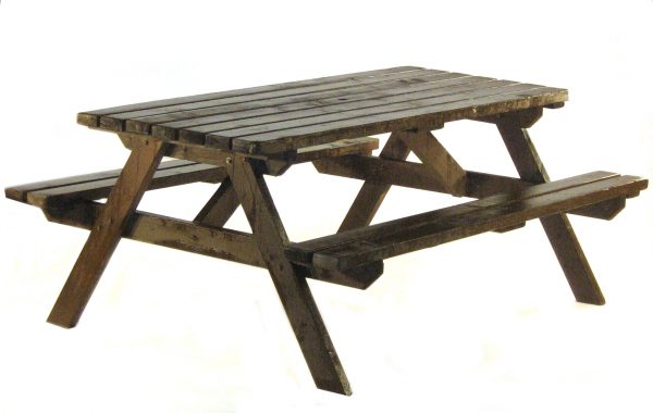 Ex Hire Picnic Bench Picnic Table - BE Event Hire