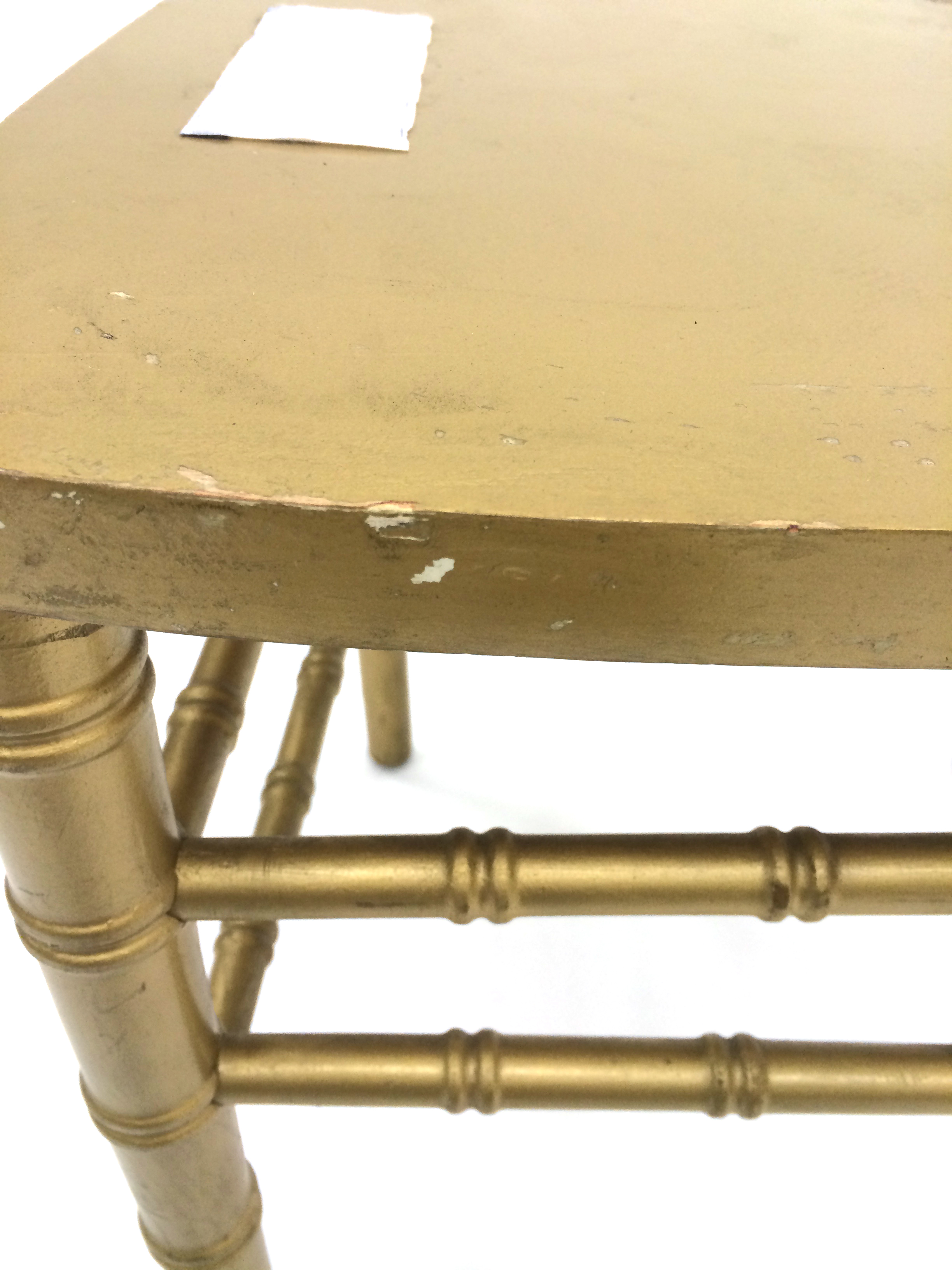 Gold Chiavari Chair (Ex-Hire) (Gilt Chairs) - BE Event Hire