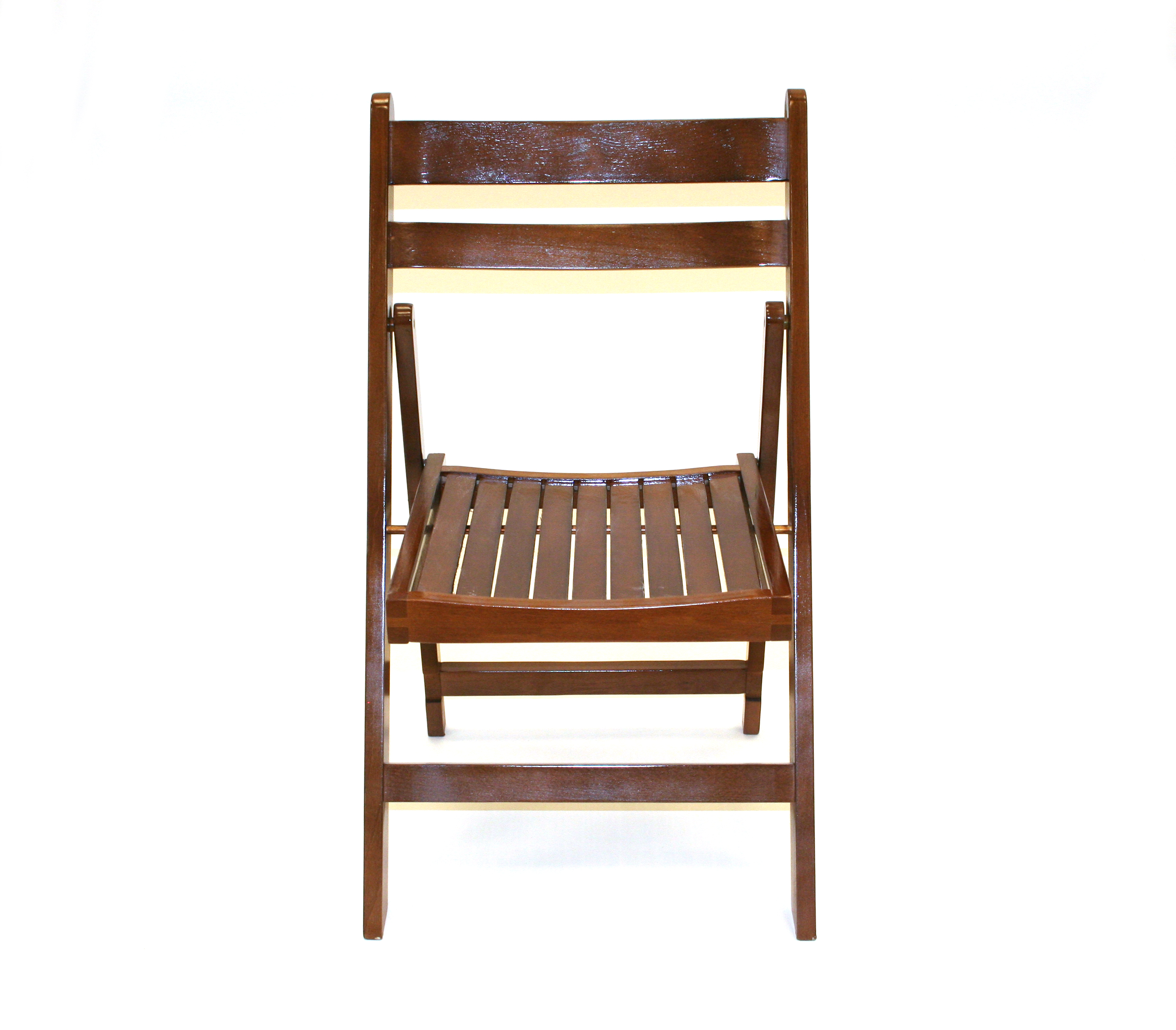 Brown Wooden Folding Chair Cafes Events Gardens Be