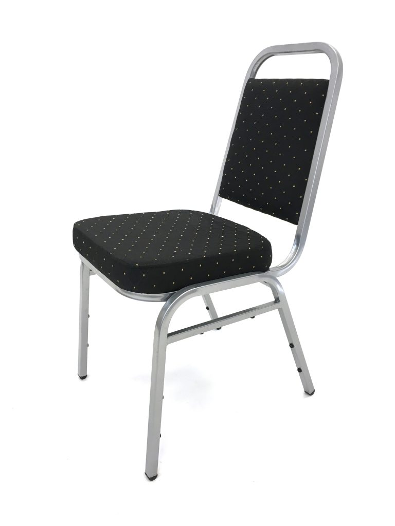 Ex Hire Black Budget Banquet Chair - BE Furniture Sales