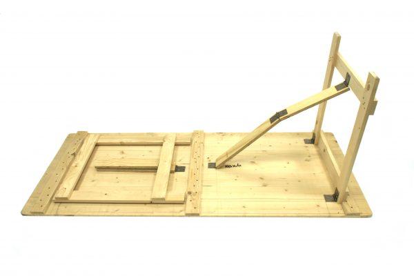 Wooden Trestle Tables