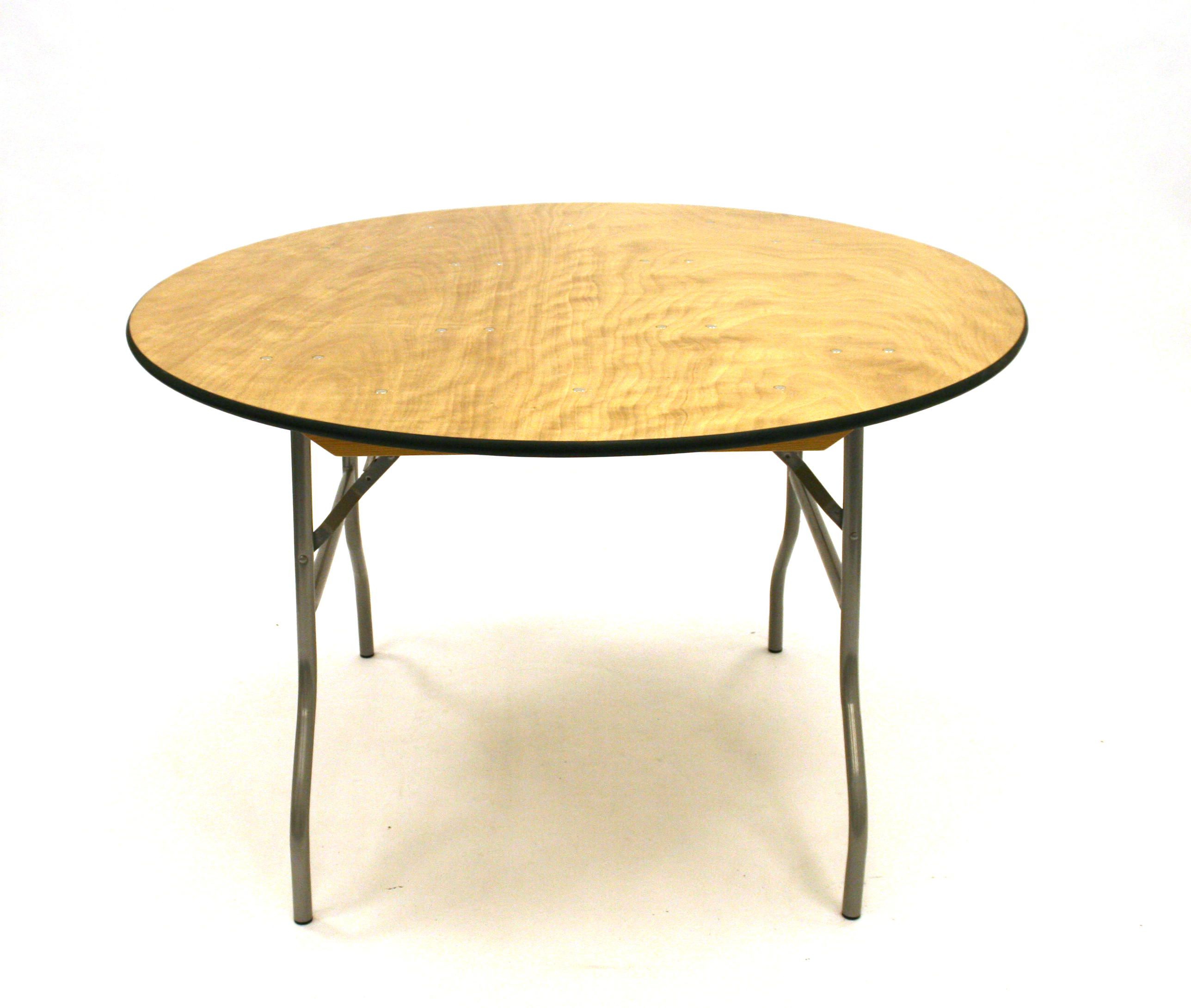 Round Banqueting Table - 5' Diameter Varnished - BE Furniture Sales