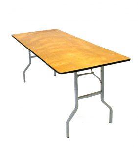 Varnished Wood Tables
