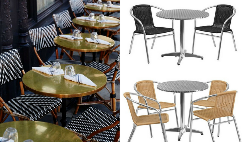 Bulk buy discount on garden chairs for cafe s restaurants