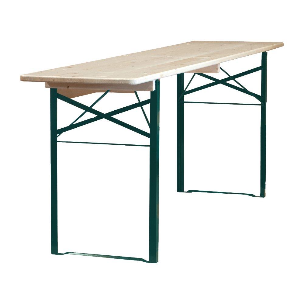 Varnished Beer Bench Tables - 2m Long - BE Furniture Sales