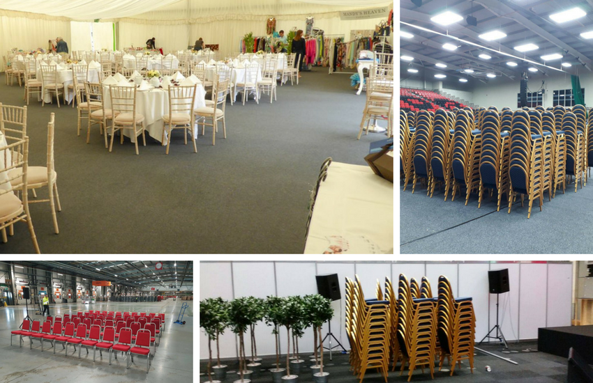 Using Stacking Chairs for Venues - BE Furniture Sales