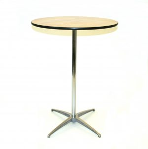 Wooden Round Table - 2'6'' Diameter Round Table - BE Furniture Sales