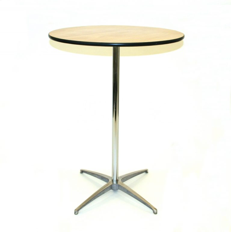 "New 2'6"" Diameter High Table - BE Furniture Sales"