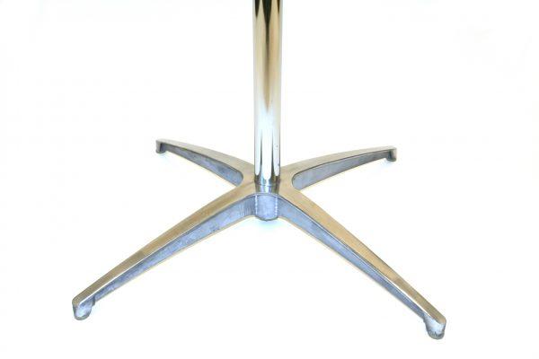 Varnished bistro table leg - BE Furniture Sales