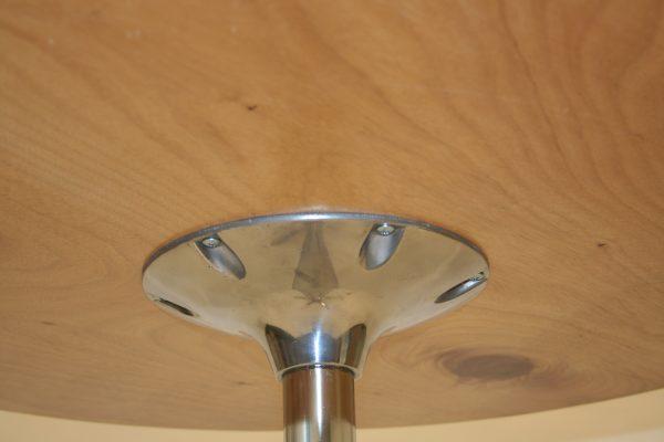 Underside of Varnished Bistro Table for Sale - BE Furniture Sales