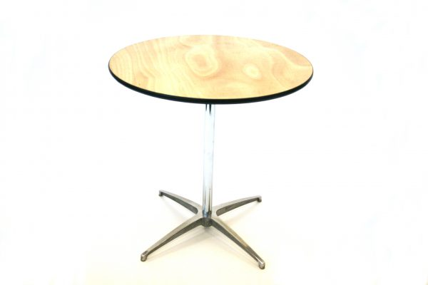 Round Bistro Tables with Wooden Top for Sale - BE Furniture Sales