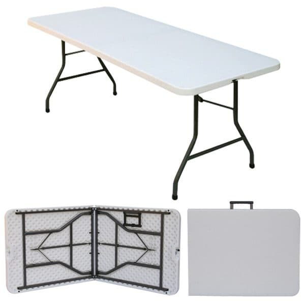 1.8 Meter Folding Trestle Table - Fold in Half Tables - BE Furniture Sales